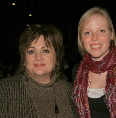 Nada Ristich and 2006 BMO Loran Scholar Kyla Brophy