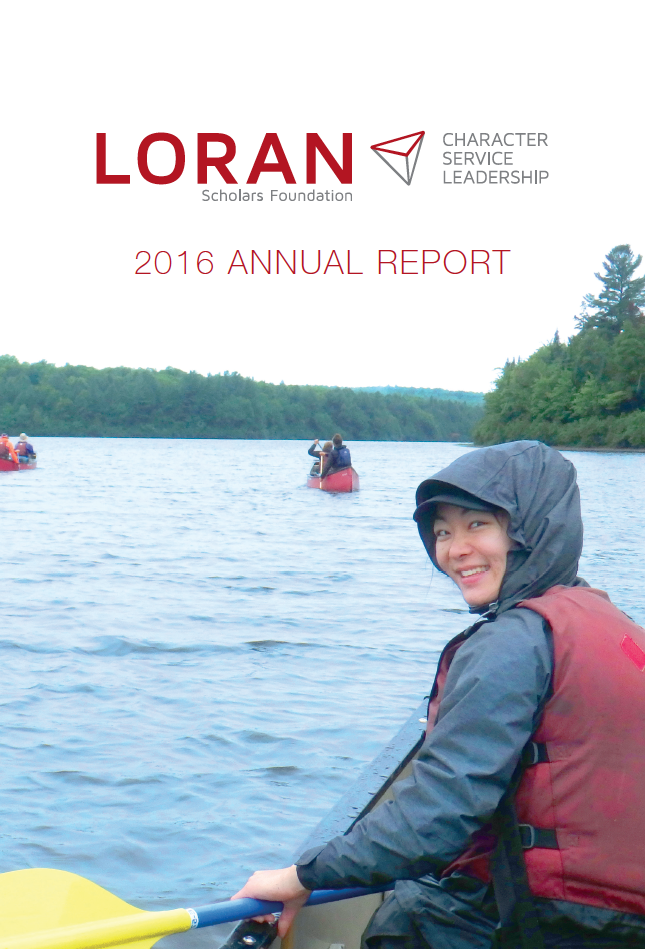 2016 Annual Report - Loran Scholars Foundation