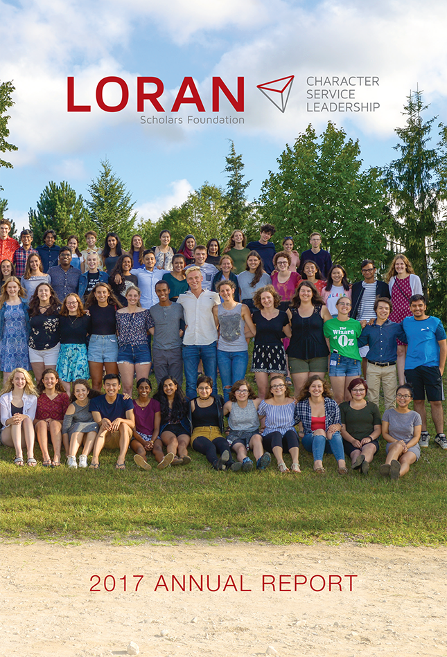 Annual Report 2017 - Loran Scholars Foundation