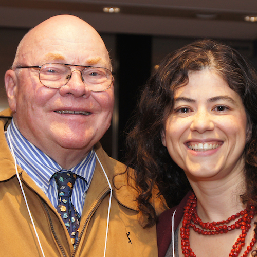 Robert Cluett, Founding CEO, and Franca Gucciardi, CEO of the Loran Scholars Foundation