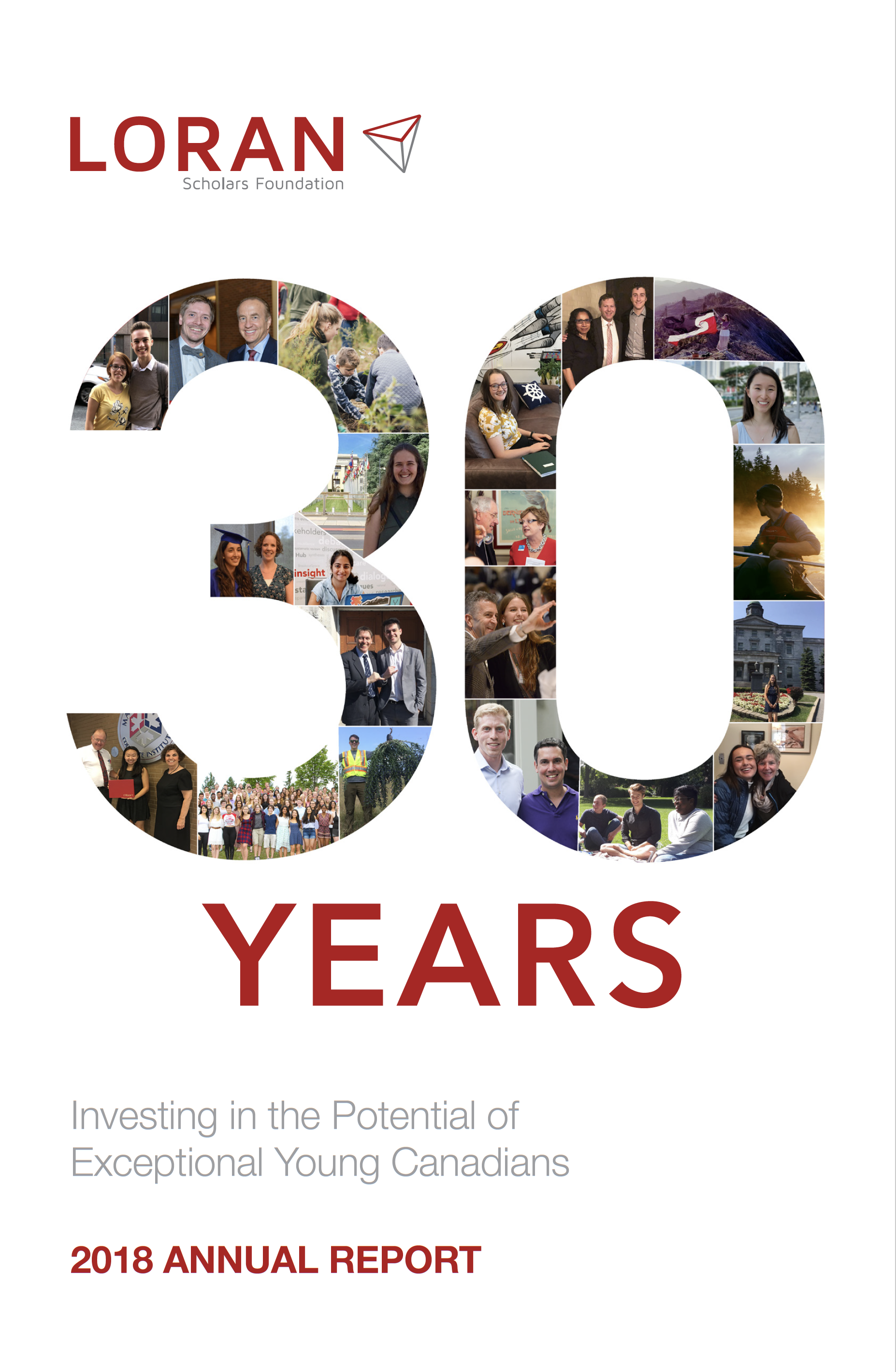 Rapport annuel 2018 - Fondation Boursiers Loran