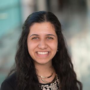 Aditi Sriram - 2016 Scace Loran Scholar - UBC