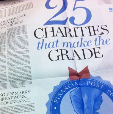 Financial Post - Top 25 Charities