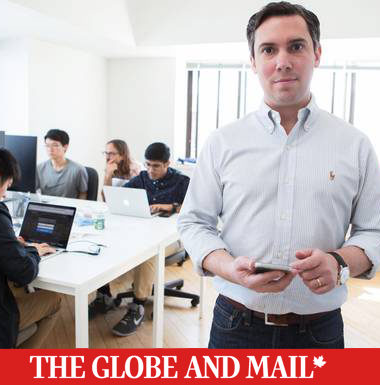 Loran Scholar Steven Uster is the CEO of FundThrough - Globe and Mail - Jennifer Roberts