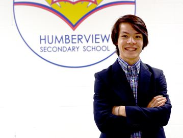 Humberview student Matthew Reynolds one of 84 finalists out of 4,400 applicants selected for the Loran Award, one of Canada's most prestigious independent scholarships.
