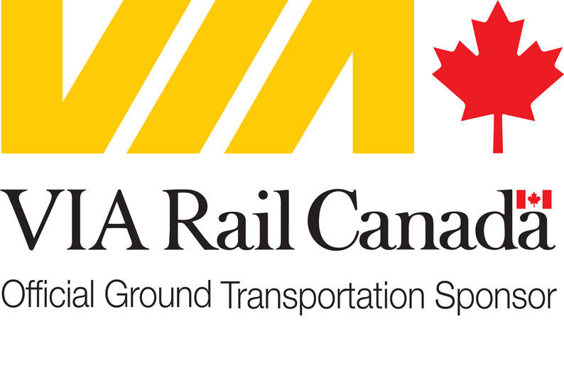 VIA Rail - Official Ground Transportation Sponsor